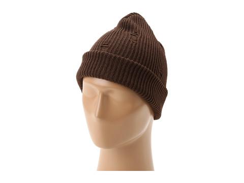 Gabriella Rocha - Beanie w/Hole Accent (Brown) Knit Hats