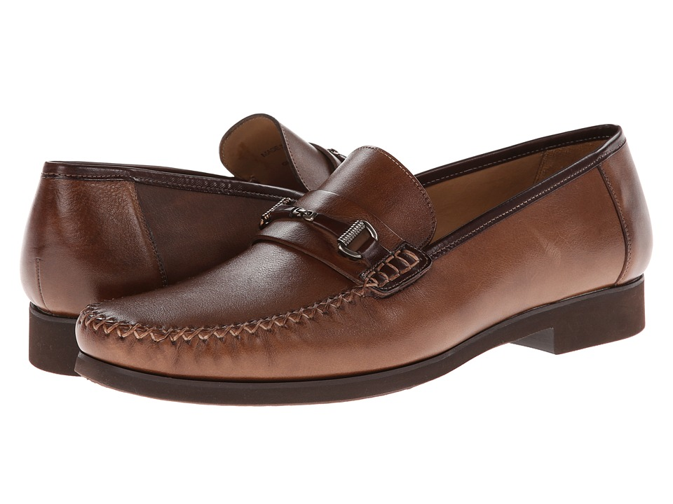 Mezlan - Ghedini (Cognac) Men's Slip on Shoes