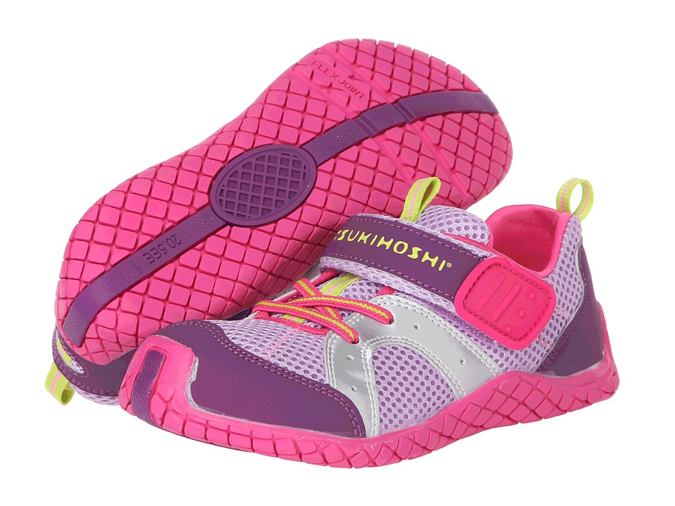 Tsukihoshi Kids - Marina (Toddler/Little Kid) (Purple/Fuchsia) Girls Shoes