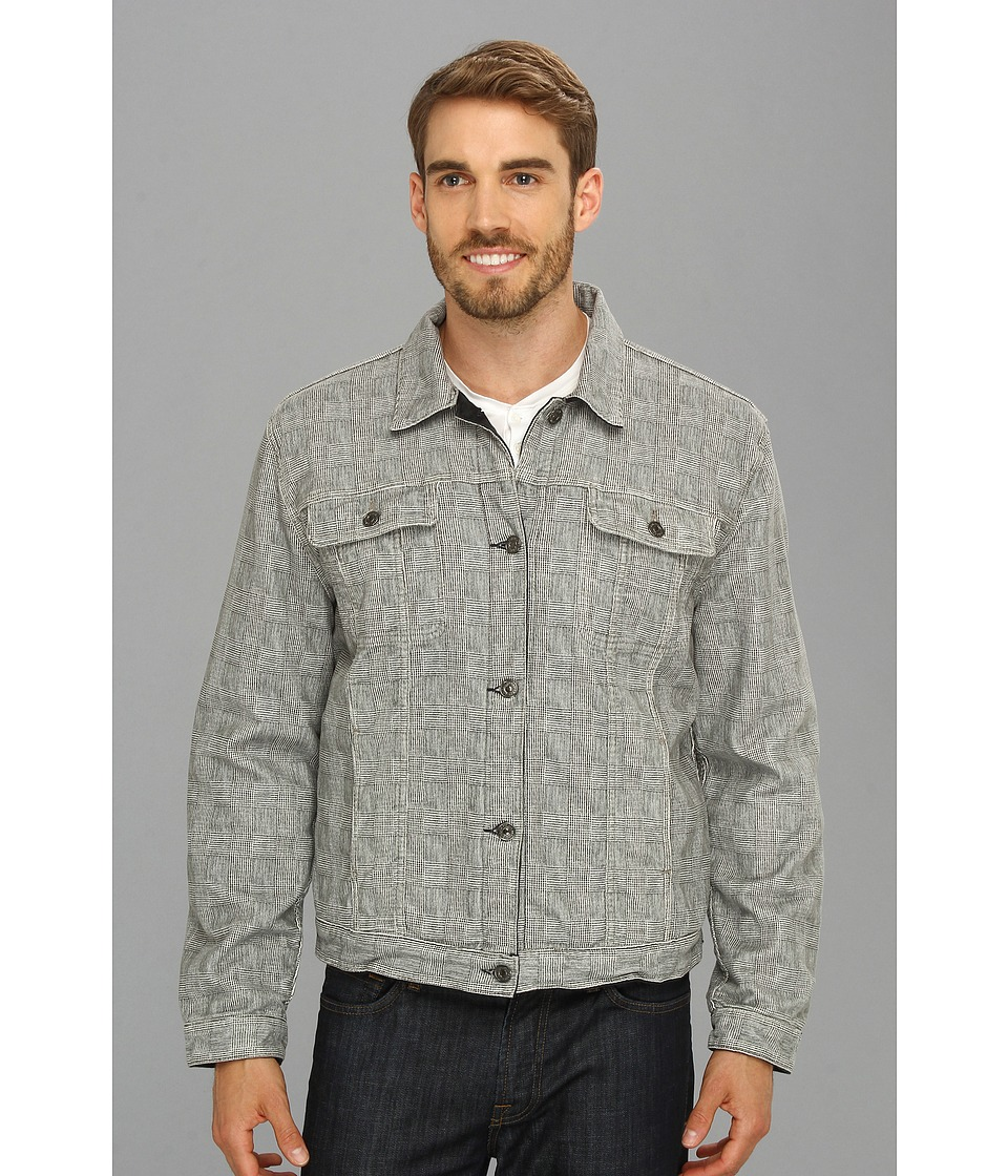 7 For All Mankind - Reversible Jean Jacket (Grey) Men's Jacket