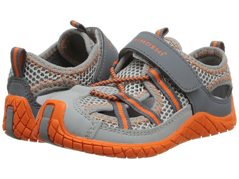 Tsukihoshi Kids - Malibu (Toddler/Little Kid) (Orange/Gray) Boys Shoes