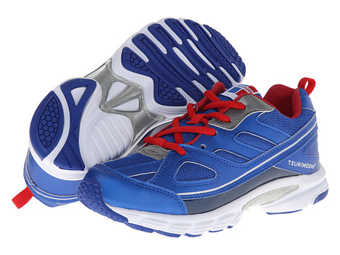 Tsukihoshi Kids - Spark (Little Kid/Big Kid) (Blue/Red) Boys Shoes
