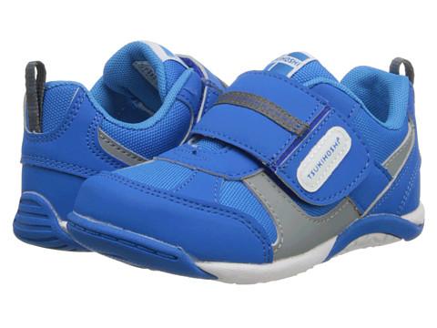 Tsukihoshi Kids - Flare (Toddler/Little Kid) (Royal/Gray) Boys Shoes