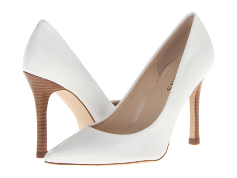 GUESS - Eloy 3 (White Leather) High Heels