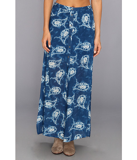 MINKPINK - Paisley Crush Maxi Skirt (Multi) Women