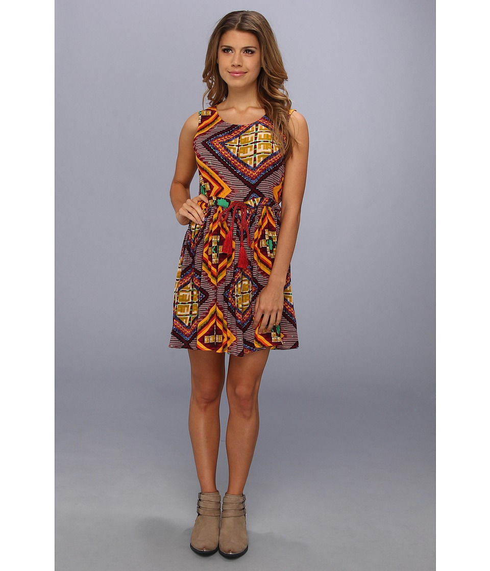MINKPINK - Moroccan Tile Dress (Multi) Women's Dress