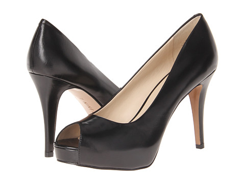 Nine West - Camya (Black Leather 1) High Heels