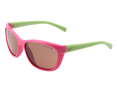 Nike - Nike Trophi (Pink Foil/Cactus) Sport Sunglasses