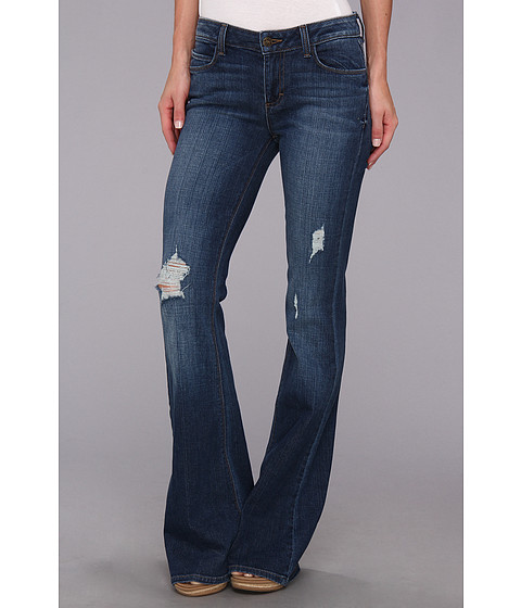 Siwy Denim Janis Mid-Rise Flare in Treasure Map (Treasure Map) Women's Jeans