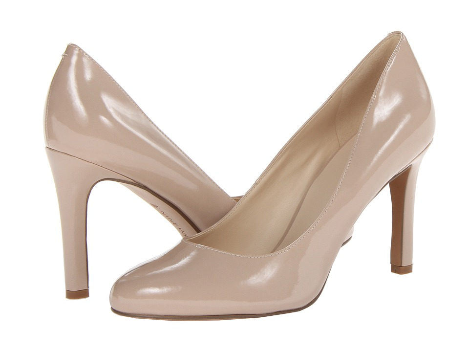 Nine West - Gramercy (Poudre Patent Synthetic) High Heels