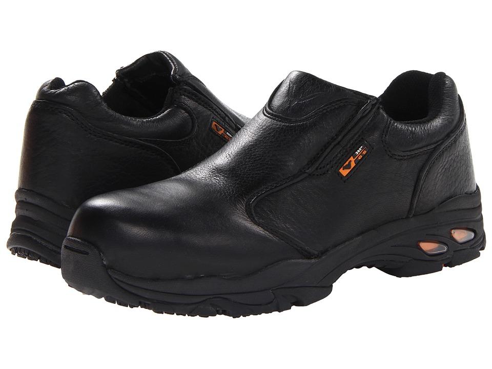 Thorogood Safety Toe Slip On (Black Tumbled) Men