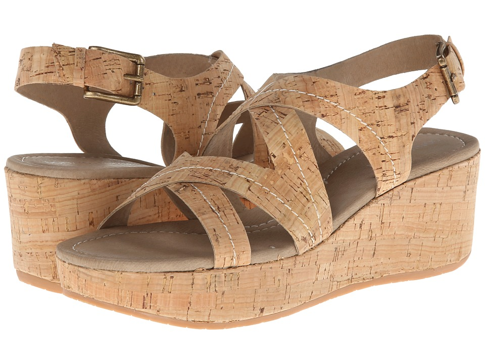 Donald J Pliner - Saki (Natural Distressed Cork) Women's Wedge Shoes