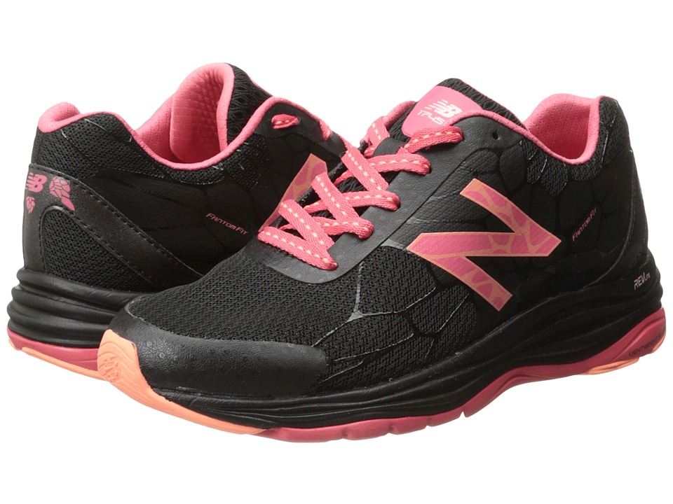 New Balance - WW1745 (Black/Coral) Women's Shoes