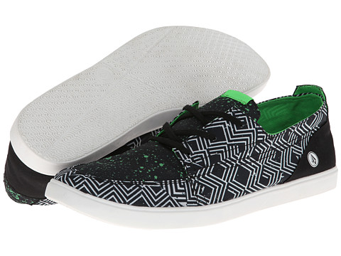 Volcom - Chronos (Lime Paint/Multi Prints Poly) Men's Shoes