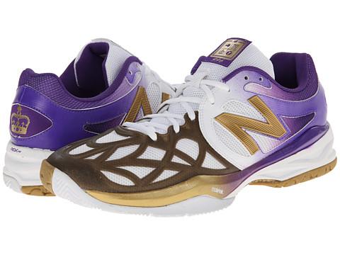 New Balance - MC996 (White/Purple) Men's Tennis Shoes