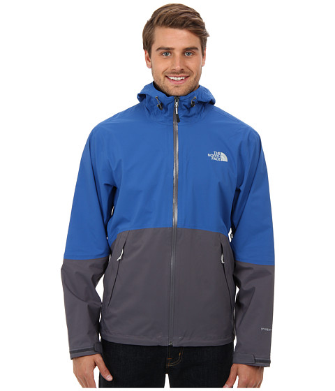 The North Face - Matthes Jacket (Snorkel Blue/Vanadis Grey) Men's Coat