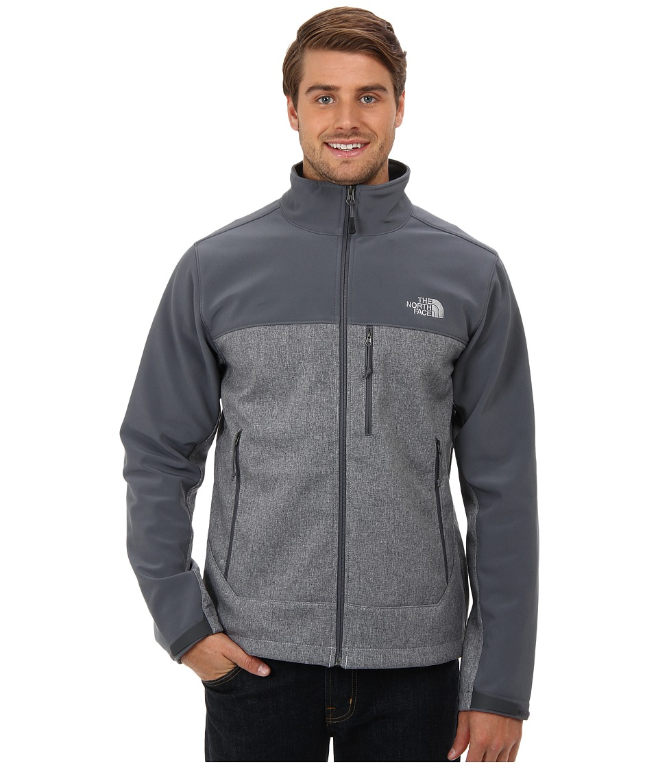The North Face - Apex Bionic Jacket (High Rise Grey Heather/Vanadis Grey) Men