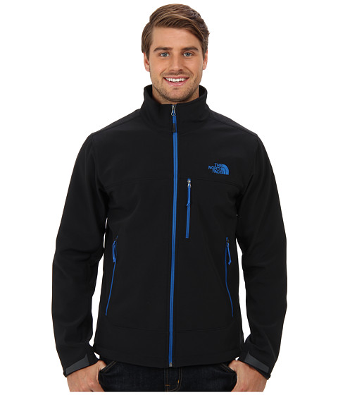 The North Face - Apex Bionic Jacket (TNF Black/Snorkel Blue) Men's Coat
