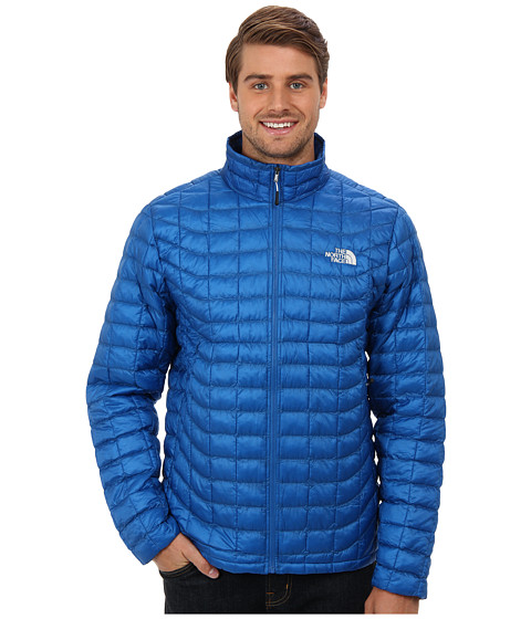 The North Face - ThermoBall Full Zip Jacket (Snorkel Blue) Men's Coat