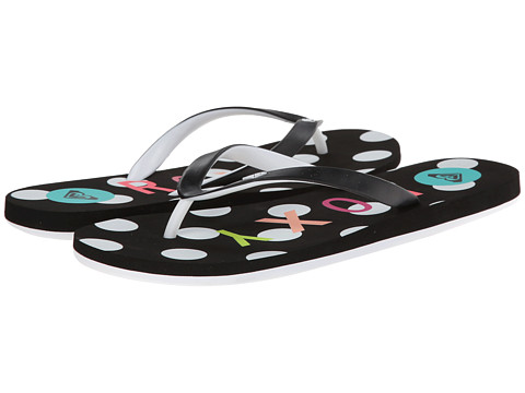 Roxy - Tahiti V (Black/White) Women's Shoes