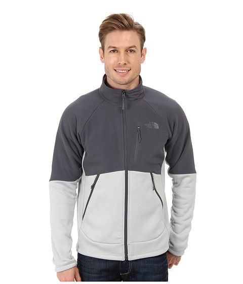 The North Face - Momentum 300 Pro Jacket (High Rise Grey/Vanadis Grey) Men's Coat