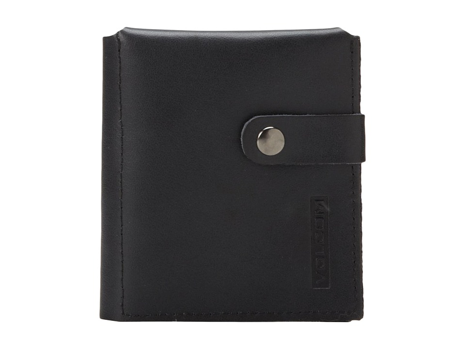 Volcom - Basics Wallet (Black Tinted) Bi-fold Wallet