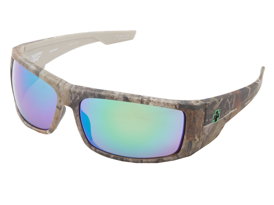 Spy Optic - Konvoy (Spy + Real Tree - Happy Bronze Polar w/ Green Spectra) Sport Sunglasses
