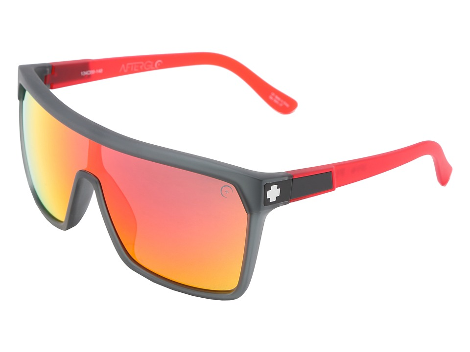 Spy Optic - Flynn (Afterglo Cherry Bomb - Grey w/ Red Spectra) Sport Sunglasses