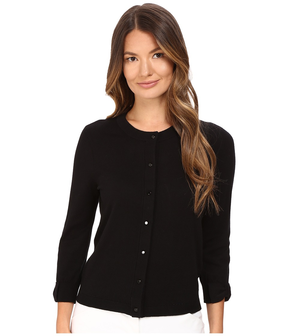 Kate Spade New York - Somerset Cardigan (Black) Women's Sweater