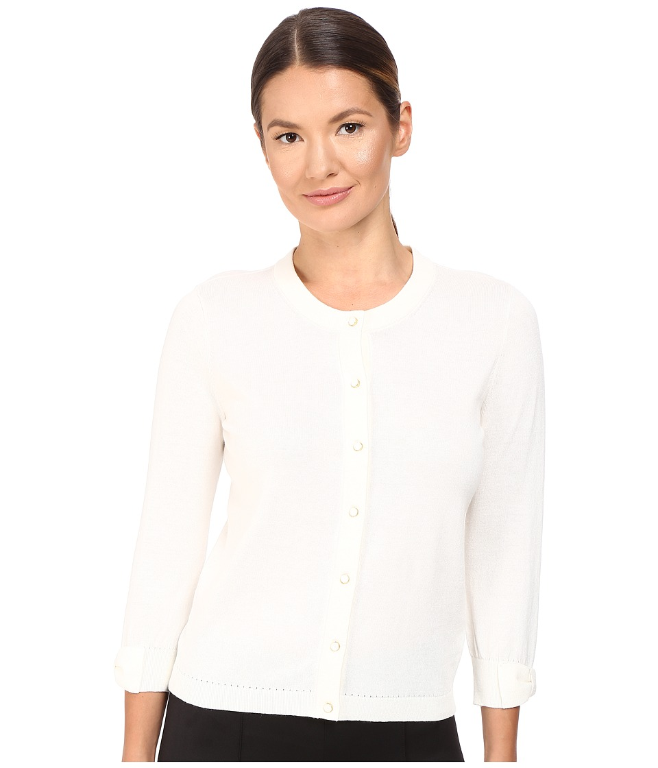 Kate Spade New York - Somerset Cardigan (Cream) Women's Sweater