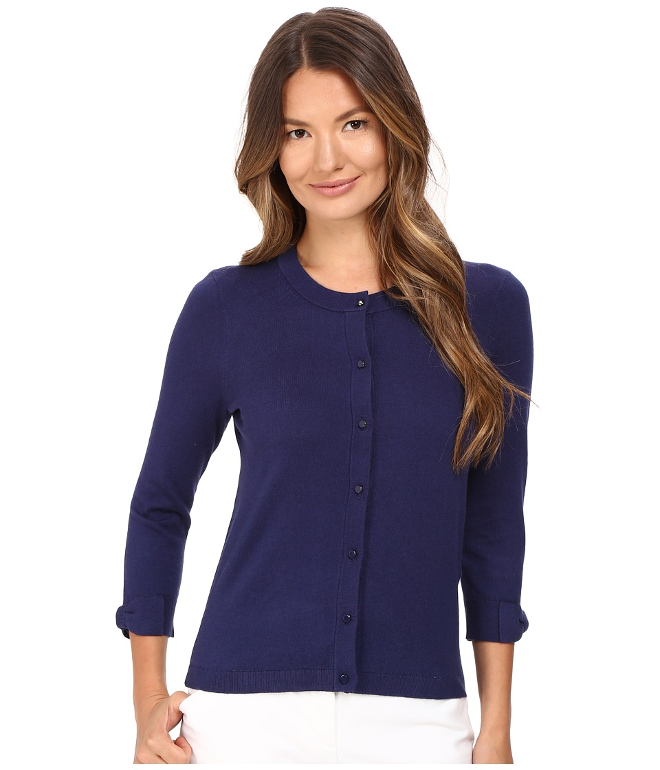 Kate Spade New York - Somerset Cardigan (French Navy) Women's Sweater
