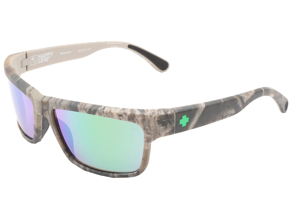 Spy Optic - Frazier Real Tree (Happy Lens) (Spy + Real Tree - Happy Bronze Polar w/ Green Spectra) Sport Sunglasses
