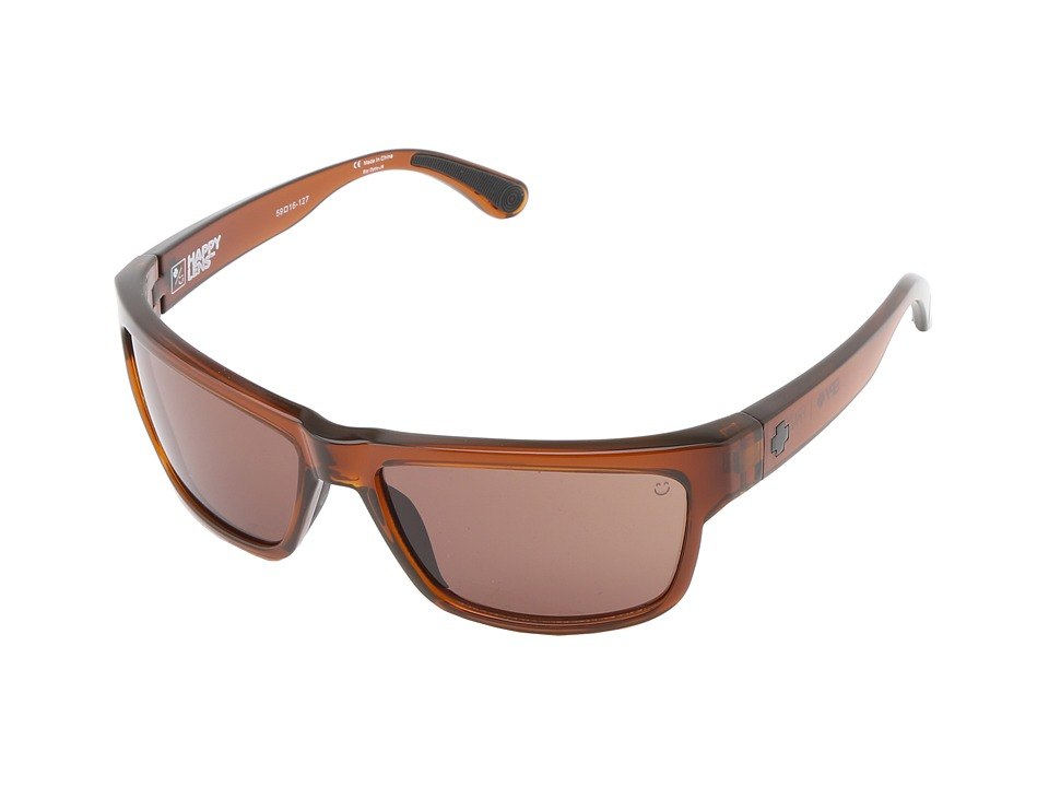 Spy Optic - Frazier (Happy Lens) (Brown Ale - Happy Bronze) Sport Sunglasses