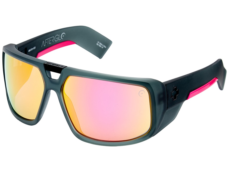 Spy Optic - Touring (Afterglo Cosmic Sunrise - Grey w/ Pink Spectra) Sport Sunglasses