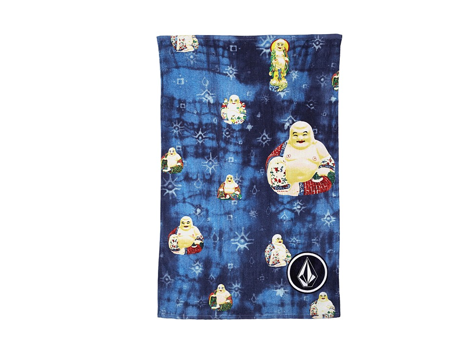Volcom - Bender Beach Towel (Blue) Bath Towels