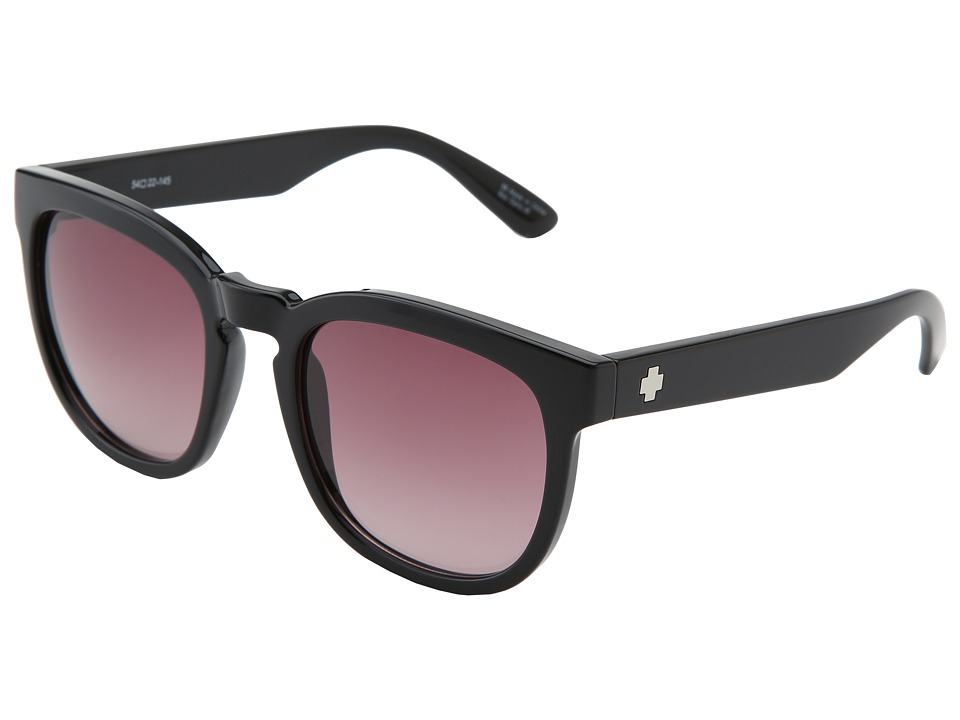 Spy Optic - Quinn (Black - Merlot) Sport Sunglasses