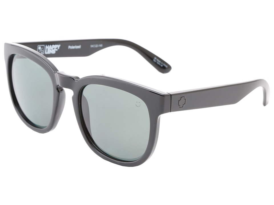 Spy Optic - Quinn (Black - Happy Grey Green Polar) Sport Sunglasses