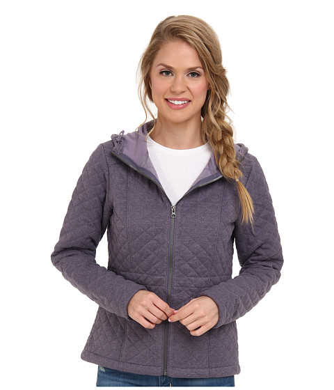 The North Face - Moncada Jacket (Greystone Blue) Women's Sweatshirt