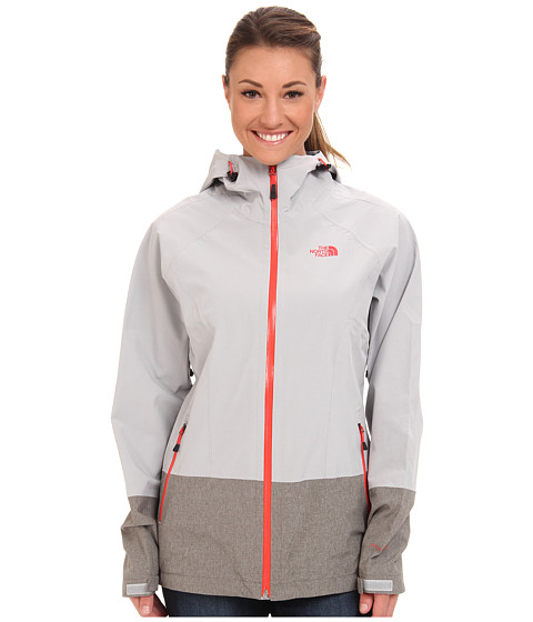 The North Face - Bashie Stretch Jacket (High Rise Grey/High Rise Grey Heather) Women's Coat
