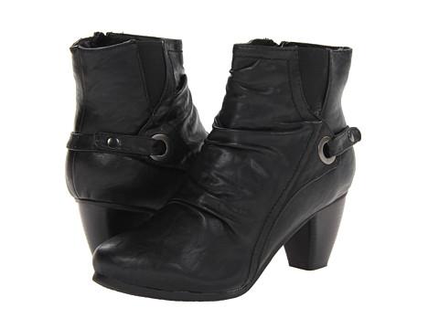 PATRIZIA Bonamie Black Womens Zip Boots