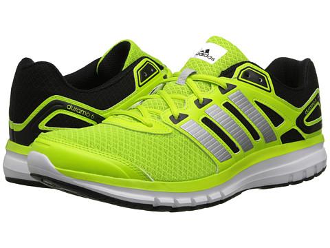 adidas Running - Duramo 6 M (Black/Solar Slime/Running White) Men's Running Shoes