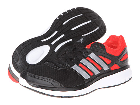 adidas Running - Duramo 6 M (Black/Running White/Hi-Res Red) Men's Running Shoes