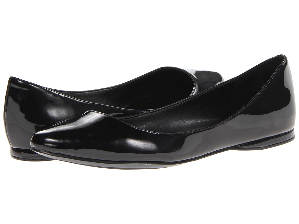 Nine West - SpeakUp (Black Patent Synthetic) Women's Dress Flat Shoes