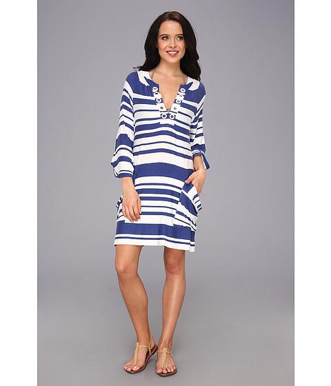 Nanette Lepore - Sportif Stripe Tunic (Navy) Women