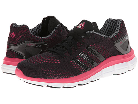 adidas Running - CC Ride W (Black/Black/Vivid Berry) Women's Running Shoes