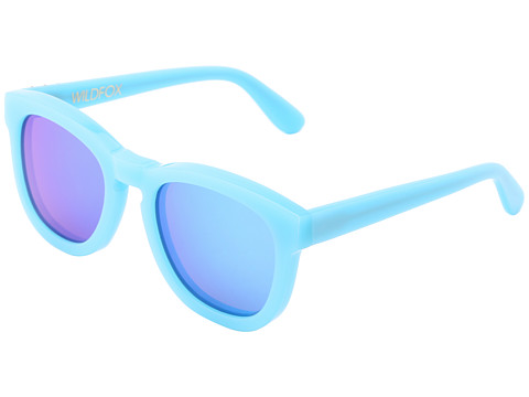 Wildfox - Classic Fox Deluxe (Pastel Blue) Plastic Frame Fashion Sunglasses