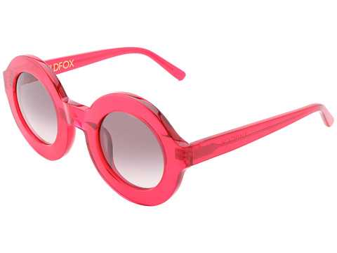 Wildfox - Twiggy (Candy Red) Plastic Frame Fashion Sunglasses