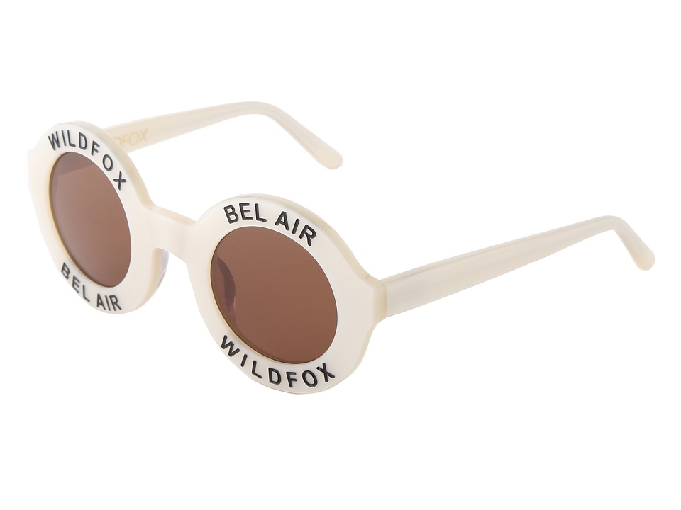 Wildfox - Bel Air (Pearl White) Plastic Frame Fashion Sunglasses