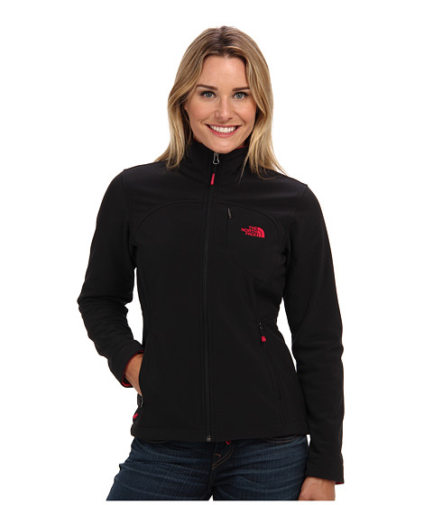 The North Face - Apex Bionic Jacket (TNF Black/Cerise Pink) Women's Coat