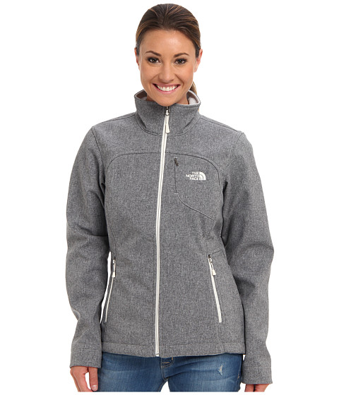 The North Face - Apex Bionic Jacket (High Rise Grey Heather) Women's Coat